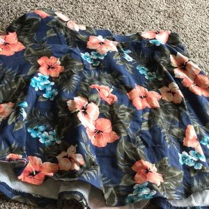 Floral Skater Skirt from Aeropostale